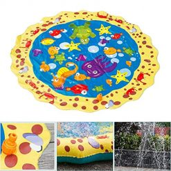 Foshin Summer Children Play Toy Inflatable Outdoor Water Spray Mat Sprinkler Cushion Beach Toys