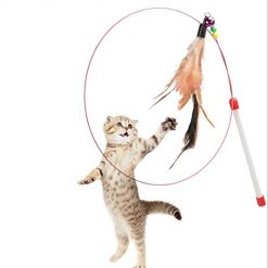 Baorin Feather Cat Catcher Toy Pet Dogs Exercising Home Travel Outdoor ToysBaorin Feather Cat Catcher Toy Pet Dogs Exercising Home Travel Outdoor Toys