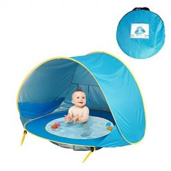 Lioder Portable Automatic Open Sunscreen Waterproof Beach Children Tent Play Tents