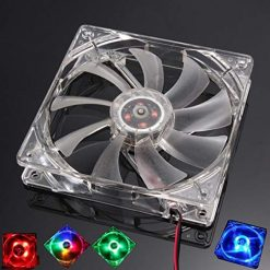 OYTRO Practical Geometric Shape Heat Dissipation Luminous CPU Chassis Fan Case Fans