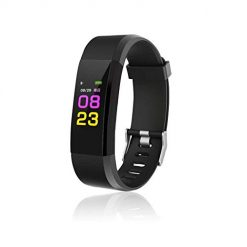 Adoeve Smart Wristband with Heart Rate Monitor/Sleep Quality Monitor/Steps Counter/GPS Tracker and More, Smart Wristband Watch for Android and iOS Clips, Arm & Wristbands