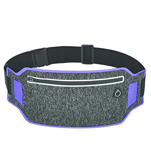 Pagacat Outdoor Running Waterproof Anti-Theft Mobile Phone Waist Bag Zipper Pocket Waist Packs
