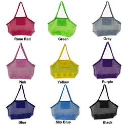 Erholi Outdoor Children Beach Toys Fast Storage Bag Sundries Mesh Bag Toy Bags & Nets 1