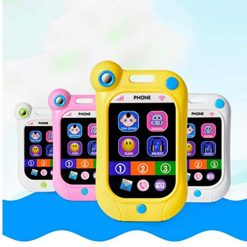 Ladiy Kids Baby Multi-Functional English Version Touch Screen Toy Phone Learning Toys Electronic Learning Toys