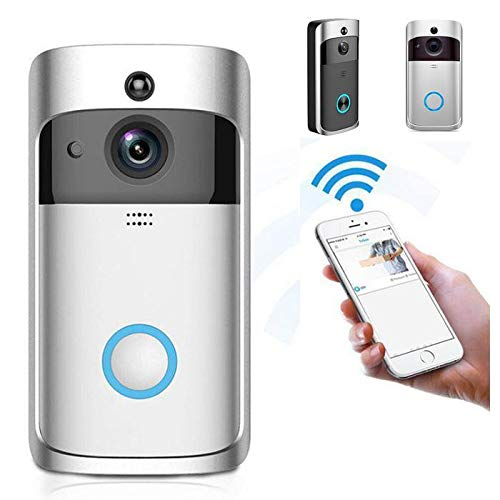 Ladiy Durable Practical 166° Wide-Angle Wireless Phone Remote Doorbell Kits With Discount Coupon Code