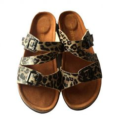 OYTRO New Casual Couple Slippers Beach Double Buckle Flat Sandals Slippers