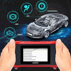 LAUNCH OBD2 Scanner CRP129E – Engine/ABS/SRS/Transmission Diagnostic Scan  Tool with Oil Service/EPB/TPMS/SAS/Throttle Body Reset