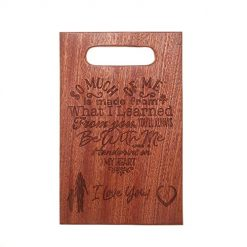 Mothers Gift - Personalized Engraved Cutting Board For Mothers Day Gifts, Mothers Birthday Gift, Gifts For Mom,Mom Cutting Board