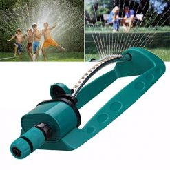 Legros8 Durable Portable Adjustable Garden Swing Sprinkler Irrigation Water Spray Tool Sprinklers