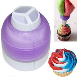 Pesters Three-color Pastry Cream Nozzle Converter Cake Decorating Tool Baking & Pastry Utensils