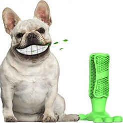 HX_HQ Dog Toothbrush Dog Toothbrush Stick Dog Cleaning Teeth Tools Puppy Dental Care Brushing Stick Chew Toy for Dogs Pets