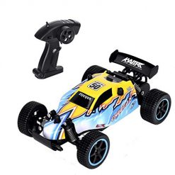 Vinciph Remote Control Car 1:20 Scale,Electric RC Car 2 WD,Off Road High Speed Racing Toy Car with 2.4 GHz Radio Control, Drifting Buggy Hoppy Car for Kids Boys Christmas Birthday Gift