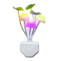 Idomeo Colorful Romantic Sensor LED Night Light Wall Lamp Home Decor Lamp Night Lights