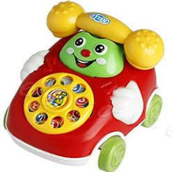 Baorin Baby Toys Cartoon Car Phone Kids Educational Developmenta Push & Pull Toys