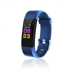Ladiy Smart Wristband with Heart Rate Monitor/Sleep Quality Monitor/Steps Counter/GPS Tracker and More, Smart Wristband Watch for Android and iOS Clips, Arm & Wristbands