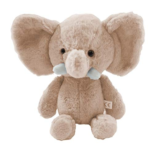 Idomeo Cute Elephant Shape Plush Toy Soft Stuffed Animal Doll Home Decoration