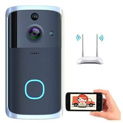 Neneleo Visual WiFi Doorbell Intelligent Electronic Surveillance Camera Anti-Theft Household Kits
