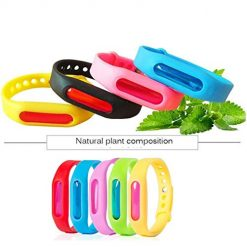 Caiuet Natural Anti Mosquito Insect Repellent Bracelet Wrist Band Repellents