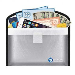 Fireproof Money Bag for Cash 10.2