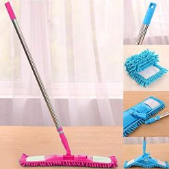 Caiuet 360 Degree Rotating Household Dry Wet Dual Use Floor Cleaning Flat Mops Wet Mops