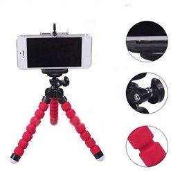 Etuoji Flexible Sponge Octopus Mini Tripod Phone Stand for Phone Mini Camera Tripods