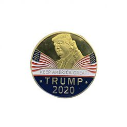 Pagacat 3D Round Shape US President Pattern Commemorative Coin Collection Item Coins