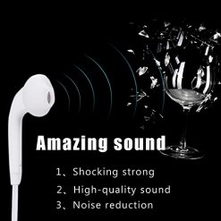 Baorin New Headphone Headset Earphone with Mic for Galaxy S6 i9800 S6 EDG Corded Headsets 2