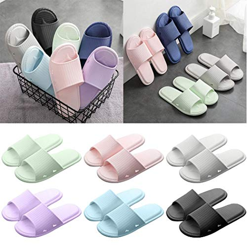 Etuoji New Unisex Anti-Slip Lightweight Bathroom Shower Slipper Flip-Flops Slippers