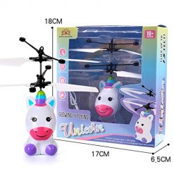 Etuoji Children Flying Toys Mini Infrared Sensing Lighting Flying Toy USB Charging LED Flashing for Kids Electronic Toys