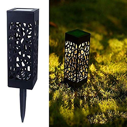 Asatr LED Solar Outdoor Garden Decoration Waterproof Hollow Out Lawn Light In-Ground Lights