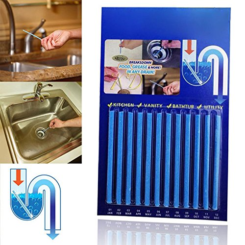 Asatr Kitchen Cleaning Tool Pipe Tub Drains Decontamination Stick Cl Drain Openers