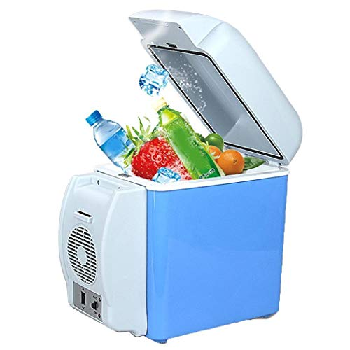 Lioder 7.5L Mini Car Refrigerator,Portable Fridge with Cold and Hot Functionality,Electric Car Refrigerator for Picnics, BBQs, camping, tailgates and Outdoors