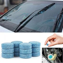 Erholi Solid Car Glass Cleaner Wiper Cleaner Concentrated Effervescent Tablets Cleaners