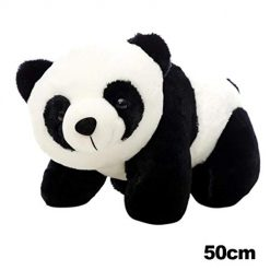 Ladiy Cute Panda Shape Plush Toy Soft Stuffed Animal Doll Home Decoration Stuffed Animals