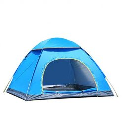 Queind Outdoor Travel Hiking Portable Lightweight Fully Automatic Camping Tent Kit Family Camping Tents