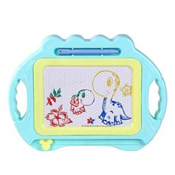 Ladiy Children's Puzzle Early Learning Toys Color DIY Magnetic-Drawing Board Drawing