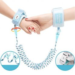 Lioder Kids Safety Harness Children Leash Wrist Link Anti-Lost Traction Rope Harnesses & Leashes
