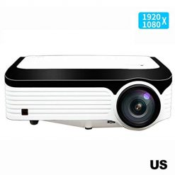Lioder Portable Practical Multipurpose Wireless HD Smart Projector Video Projectors
