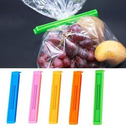 Caiuet Kitchen Food Snack Seal Storage Sealing Bag Clips Seal Clamp Plastic Tool Food Storage & Organization Sets