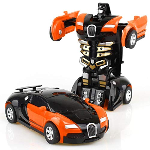 Ladiy Cartoon Crash Robot Car Toy Kids Game Gift Pedal Cars Coupon