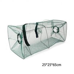 Legros8 Open Simple Fishing Cage Square Net Fish Net Shrimp Cage Nets