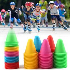 Foshin 1 PC Mini Durable Skateboard Mark Cup Space Marker Cones for Inline Skat Accessories