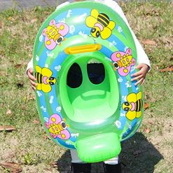 Fanxis Baby Airbags Floating PVC Inflatable Baby Swim Float Seat Swimming Ring for The Age of 1-3 Years Old