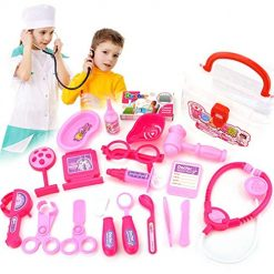 Etuoji Durable with Stethoscope Medical Doctor Equipment Kids Doctor Kit Toy Activity Play Centers