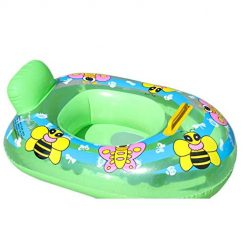 Legros8 Durable Cute Animal Print Inflatable Safety Float Seat Baby Swimming Ring Baby Floats