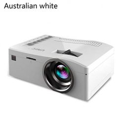 YENJO Mini Projector, UC18 Home LED Portable Entertainment Miniature Handheld HD Video Projectors