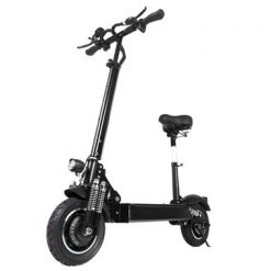 [EU] Janobike 2000W Dual Motor 23.4Ah 10 Inches Folding Electric Scooter with Seat 70km/h Max. Speed 80km Mileage Range Max Load 200kg
