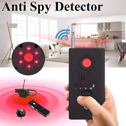 Zhouxt Anti Detector RF Detector & Camera Finder Bug Detector Upgraded RF Signal Detector GSM Tracking Device for Wireless Audio Bug Camera Detector