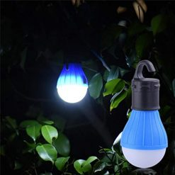 Asatr Portable Outdoor Camping LED Tent Light with Hook Emergency Lamp Lantern Flashlights