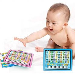 Asatr Children Touch Tablet Pad Learning Reading Machine Early Education Toys Electronic Learning Toys Blue